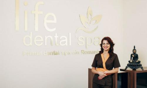 Life Dental Spa. Interviu cu dr. Cristina Chiper despre stomatologie si frumusetea vietii