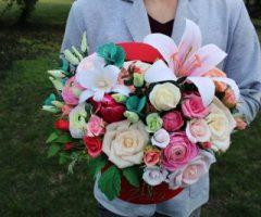 Aranjamentele florale din hartie – o un business infloritor. Zontik