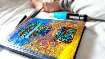 lenani zenart agenda-pictata-manual-handmade-jurnal-copii-tuincentru.ro