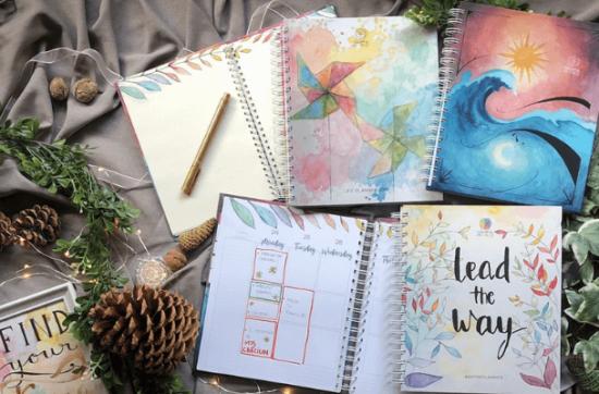 agenda planner tablou notebook colorful mind maria dinu tuincentru.ro