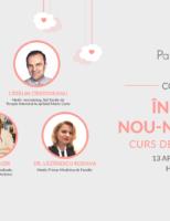 Participă la conferința îngrijirea nou-născutului