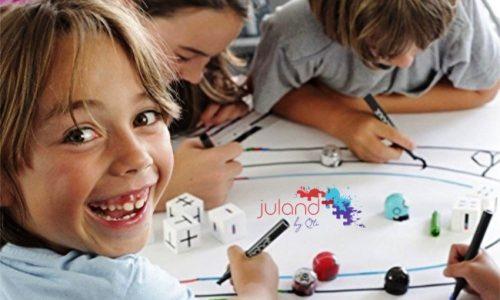 """<h2><a href=""""https://www.tuincentru.ro/cum-pot-invata-copiii-programare-fara-laptop-sau-tableta/"""">Cum pot învăța copiii programare fără laptop sau tabletă?<a href='https://www.tuincentru.ro/cum-pot-invata-copiii-programare-fara-laptop-sau-tableta/#comments' class='comments-small'>(0)</a></a></h2>M-am mai lăudat eu aici, la mine pe blog (că doar aici pot să zic de toate), că sunt o mamă căreia îi place să se joace cu fetele sale."""